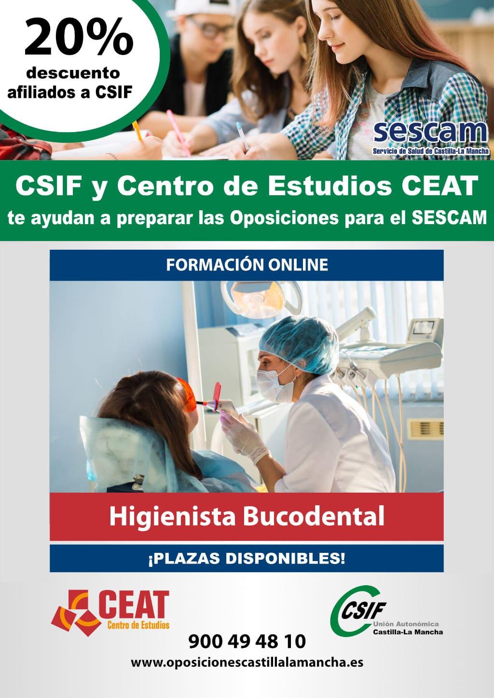 oposicion higienista dental castilla la mancha