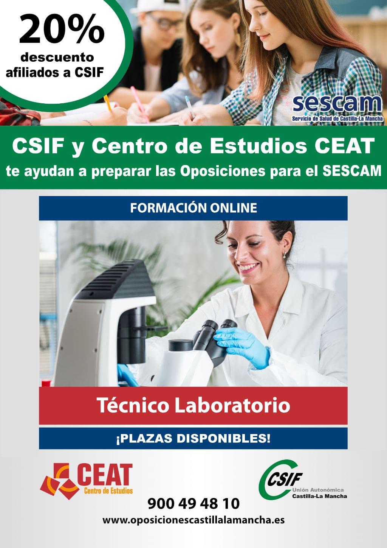Oposición Técnico Laboratorio SESCAM