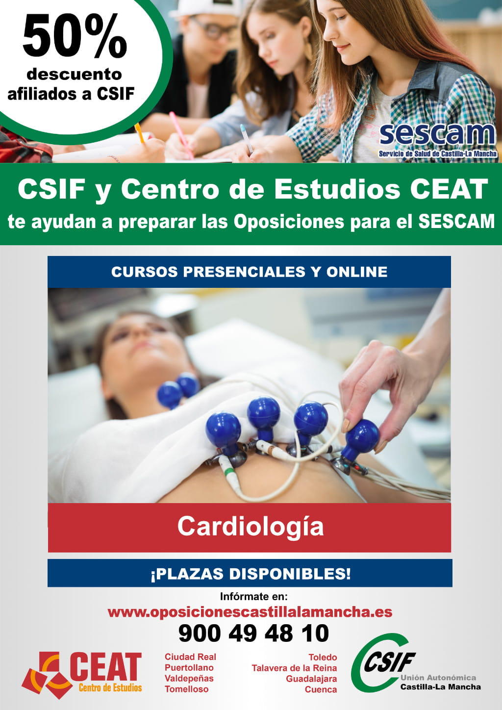 Oposiciones cardiología SESCAM