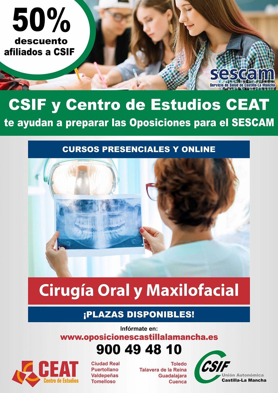Oposiciones cirugía oral maxilofacial SESCAM