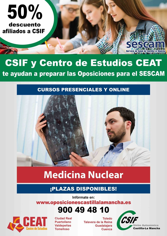 Oposiciones medicina nuclear SESCAM