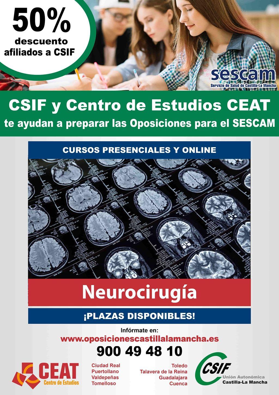 Oposiciones neurocirugía SESCAM