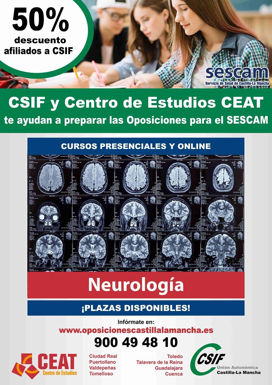 Oposiciones neurología SESCAM
