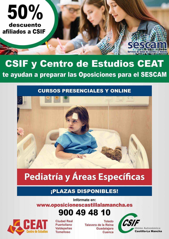 Oposiciones pediatría y áreas específicas SESCAM