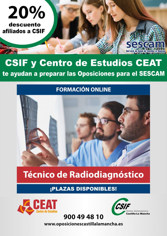 Oposición técnico radiodiagnóstico SESCAM